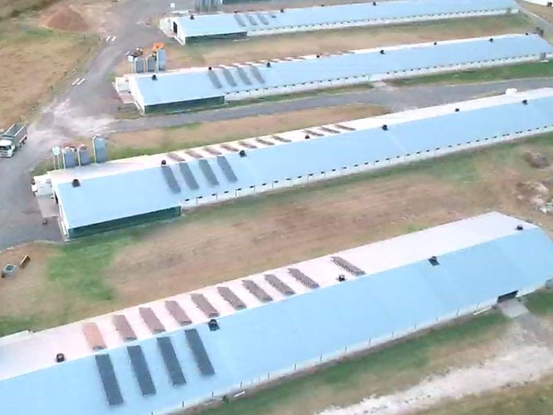 Sams Solar Power Installation Projects - Luddenham NSW 100kW Solar Installation