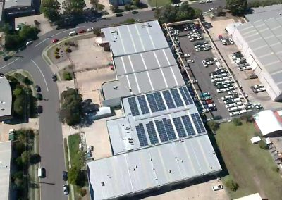 B&E Foods Blacktown NSW (100kW)