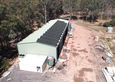 Sams Solar - Agriculture Project - Xerri Growers Glossodia